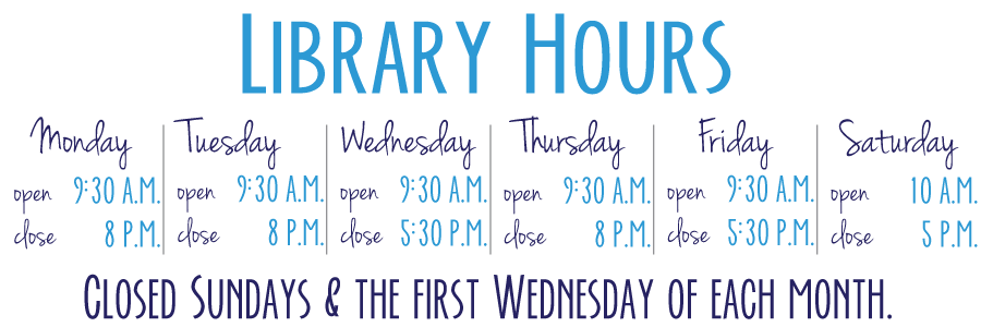E.G. Fisher Public Library Hours